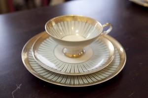 bavaria cap&saucer&plate