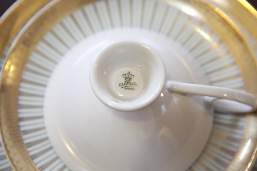 bavaria alka cap&saucer&plate/雑貨屋fuse