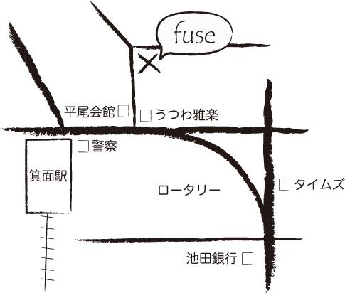 fuse アクセスマップ