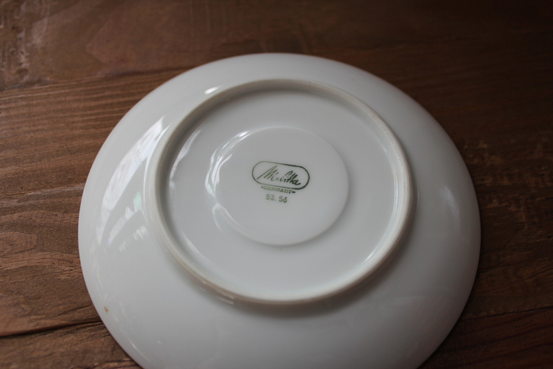 melitta saucer-001/雑貨屋fuse